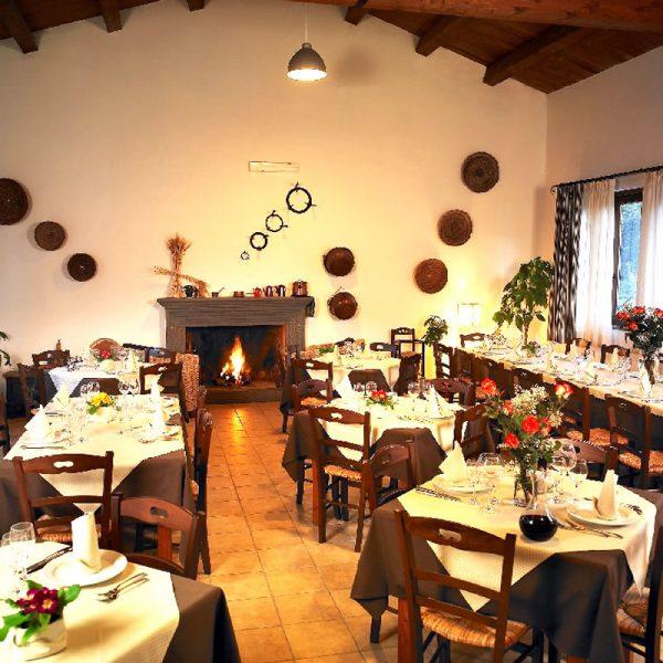 The restaurant Hotel Su Baione